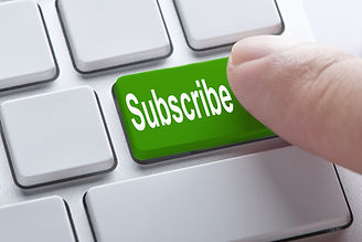 Subscribe green button on keyboard, busi