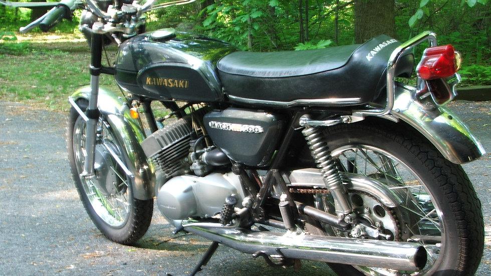 1970 kawasaki H1