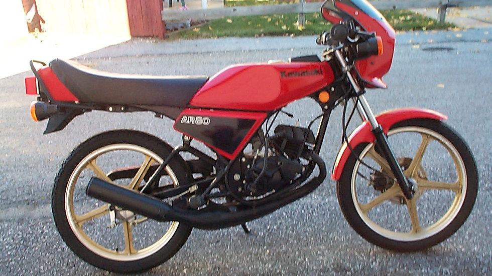 1982kawasaki AR80