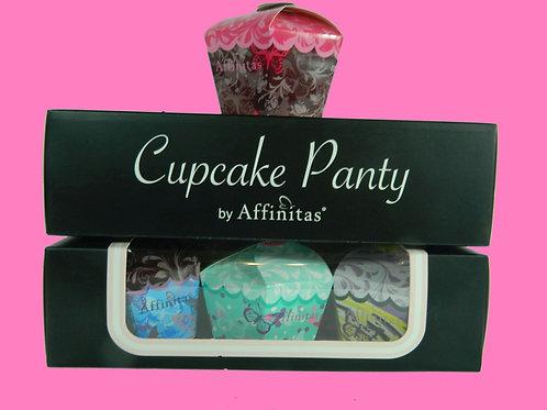 Baker's Box of Cupcake Hipster Panties