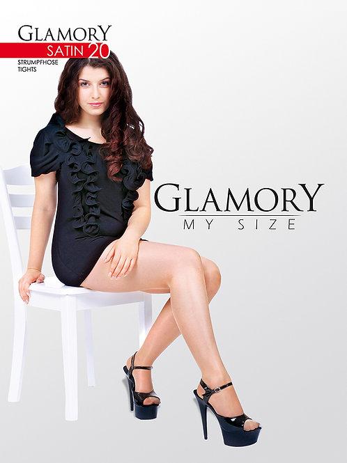 Glamory My Size Satin 20 Tights