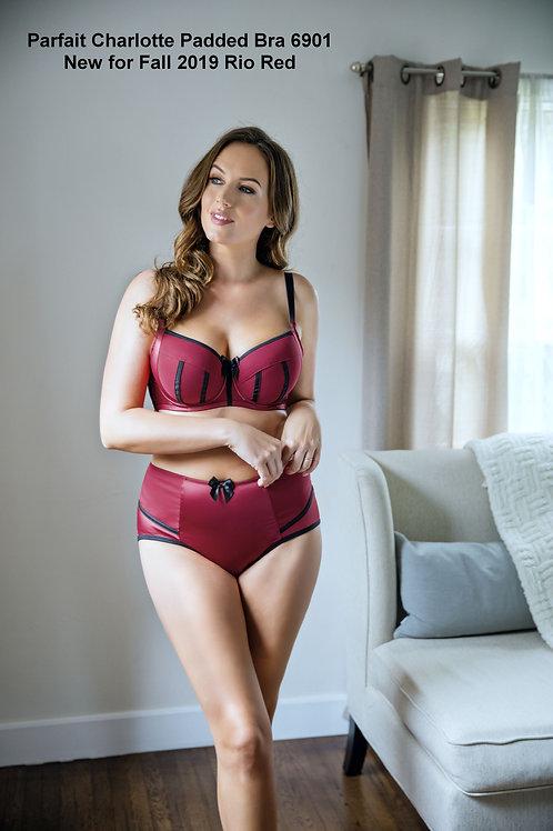 Glamour shot Charlotte Bra with matching High waist Brief