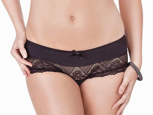 PARFAIT Casey Nylon Boyshorts Panties 2805, Black
