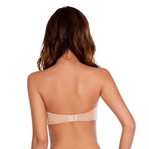 Parfait Lynn Strapless Bra, Rear View Nude