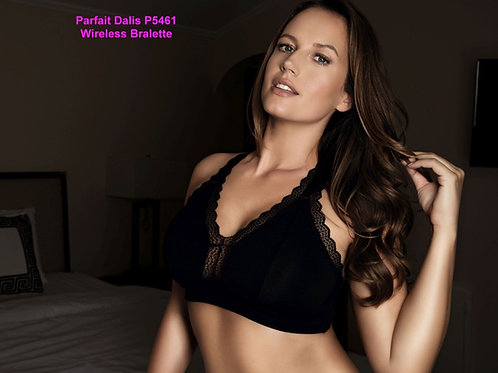 Parfait Dalis P5461 Wirefree Black Bra, Glamour Shot