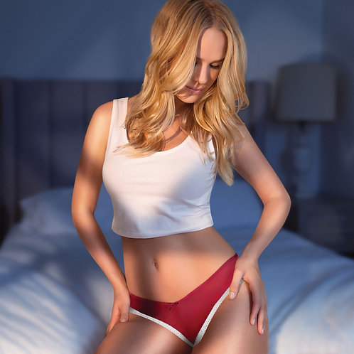 Parfait Panty So Lovely Low Rise Nylon Thong Panties S-4X