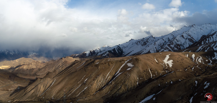 A typical trans Himalayan landscape