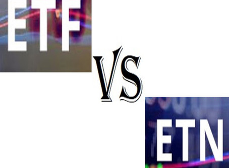 ETFs AND ETNs – KNOW THE DIFFERENCE