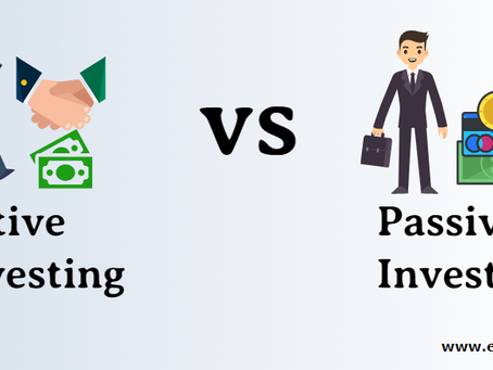 PASSIVE VS ACTIVE INVESTMENTS - CHOOSING TO OWN OR BEAT THE MARKETS