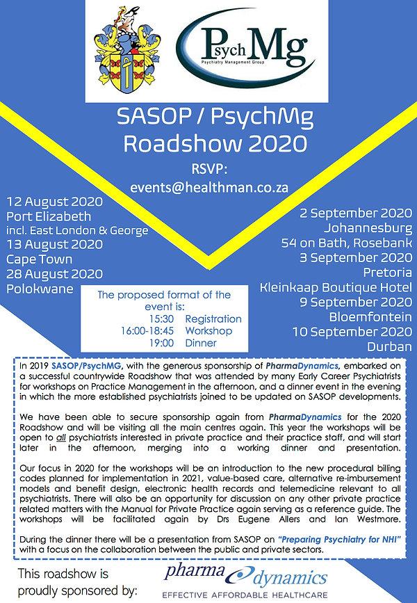 SASOP PsychMg Roadshow 2020 - Marketing
