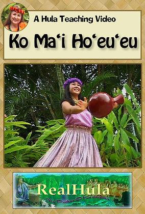 Ko Ma'i Ho'eu'eu (DVD)