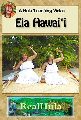 Eia Hawai'i (DVD)