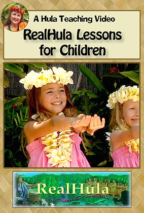 RealHula Lessons for Children (DVD)