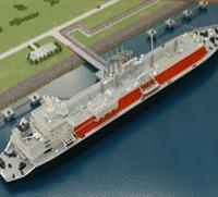 DIORAMA - LNG SHIP