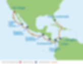 Panama Canal Eastbound Cruise 15 Nights.