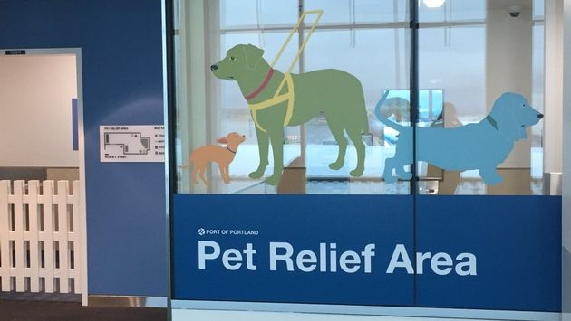 AIRPORT PET RELIEF STATIONS