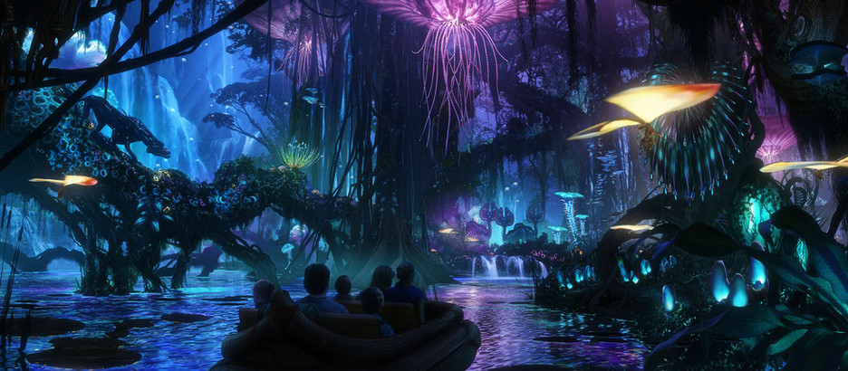 WALT DISNEY WORLD'S PANDORA: THE WORLD OF AVATAR.