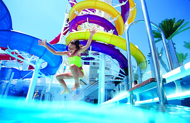 FOR A GREAT FAMILY VACATION , TAKE YOUR KIDS ON A CRUISE.