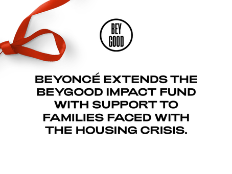 Beyoncé is Assisting With  Housing Evictions & Foreclosures