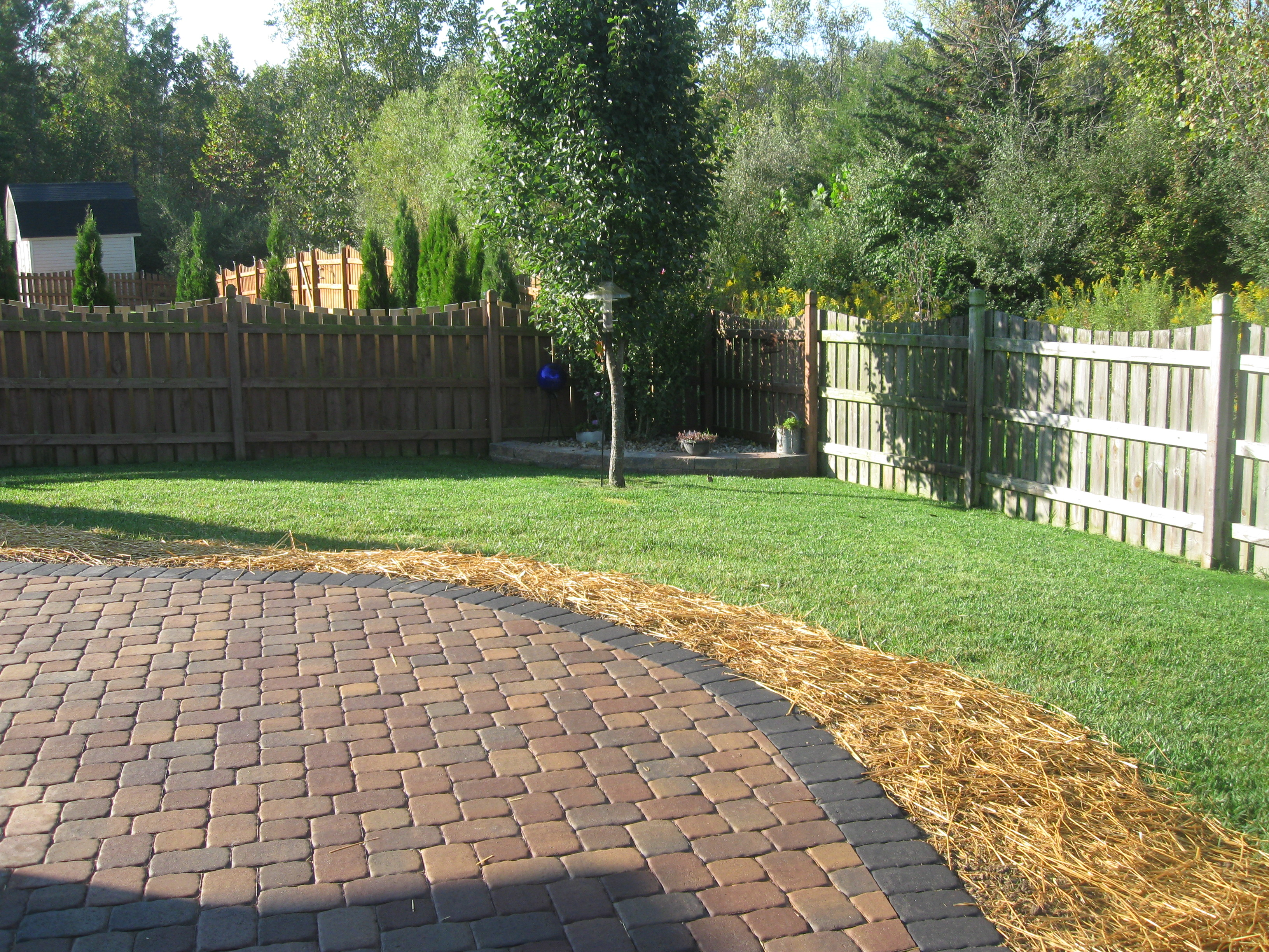 Paver Patio in Dayton Ohio