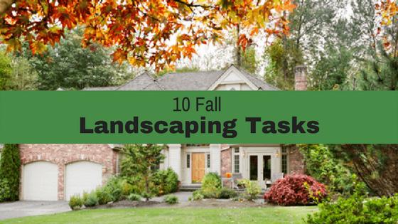 10 Fall Landscaping Tasks for Dayton Ohio.