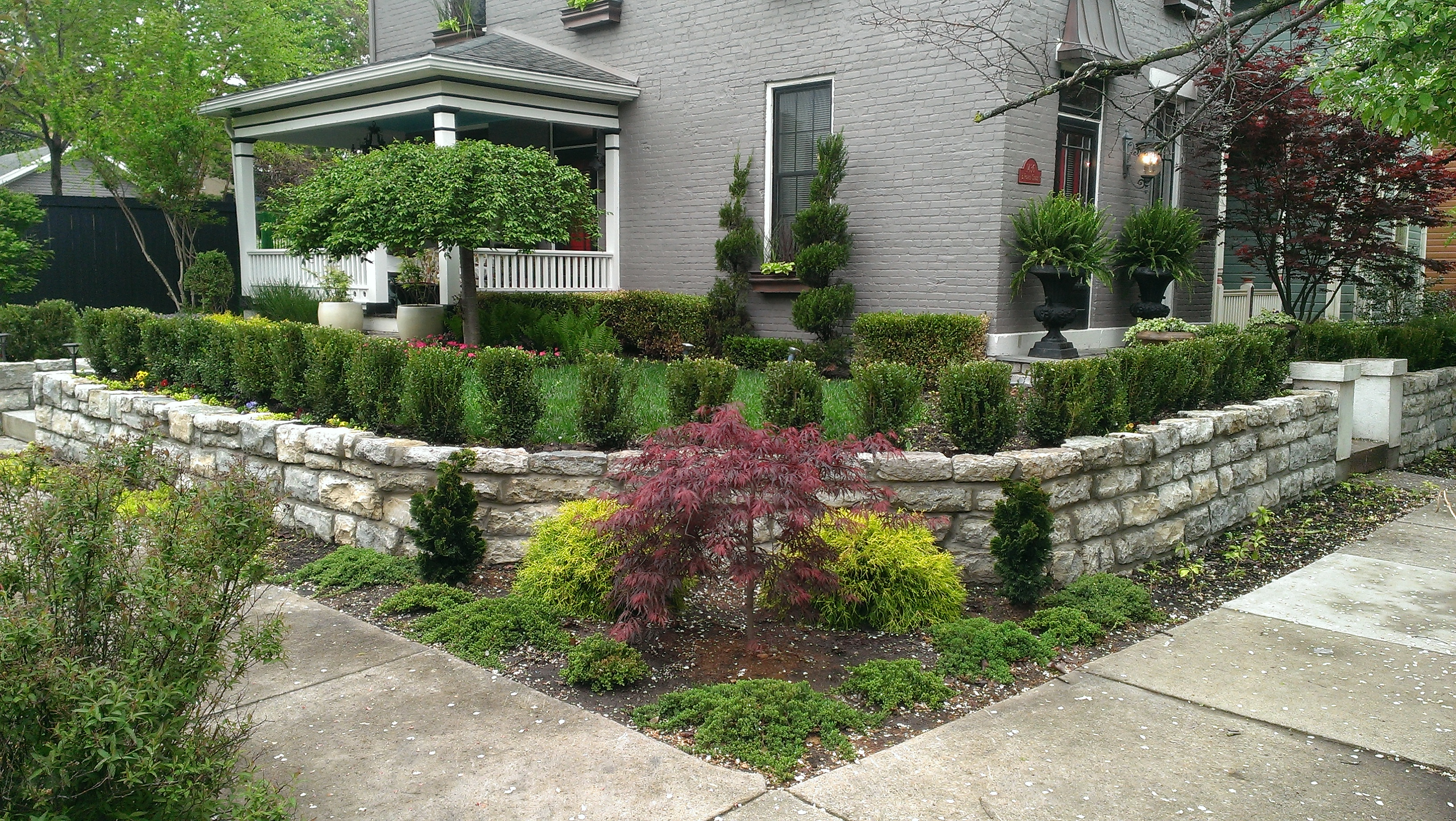 house landscaping design