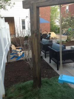 Mulch and landscape installation near Dayton Ohio_