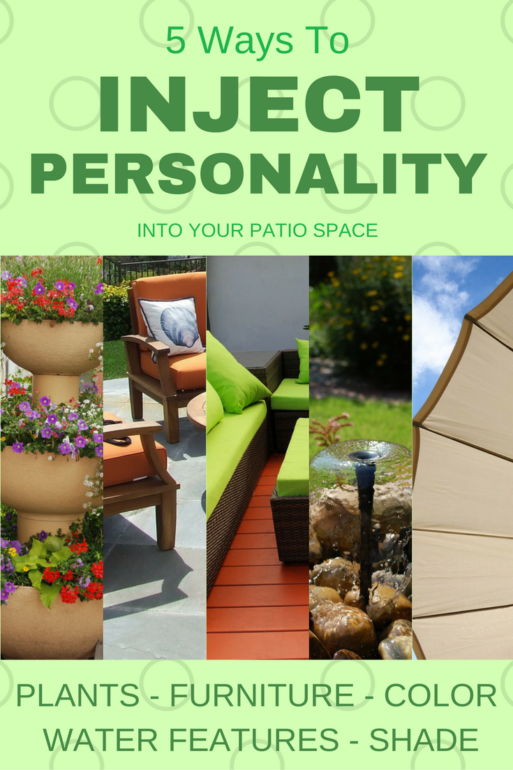 Personalize your patio with these ideas.