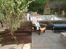 Paver patio and landscaping installation in Dayton Ohio_
