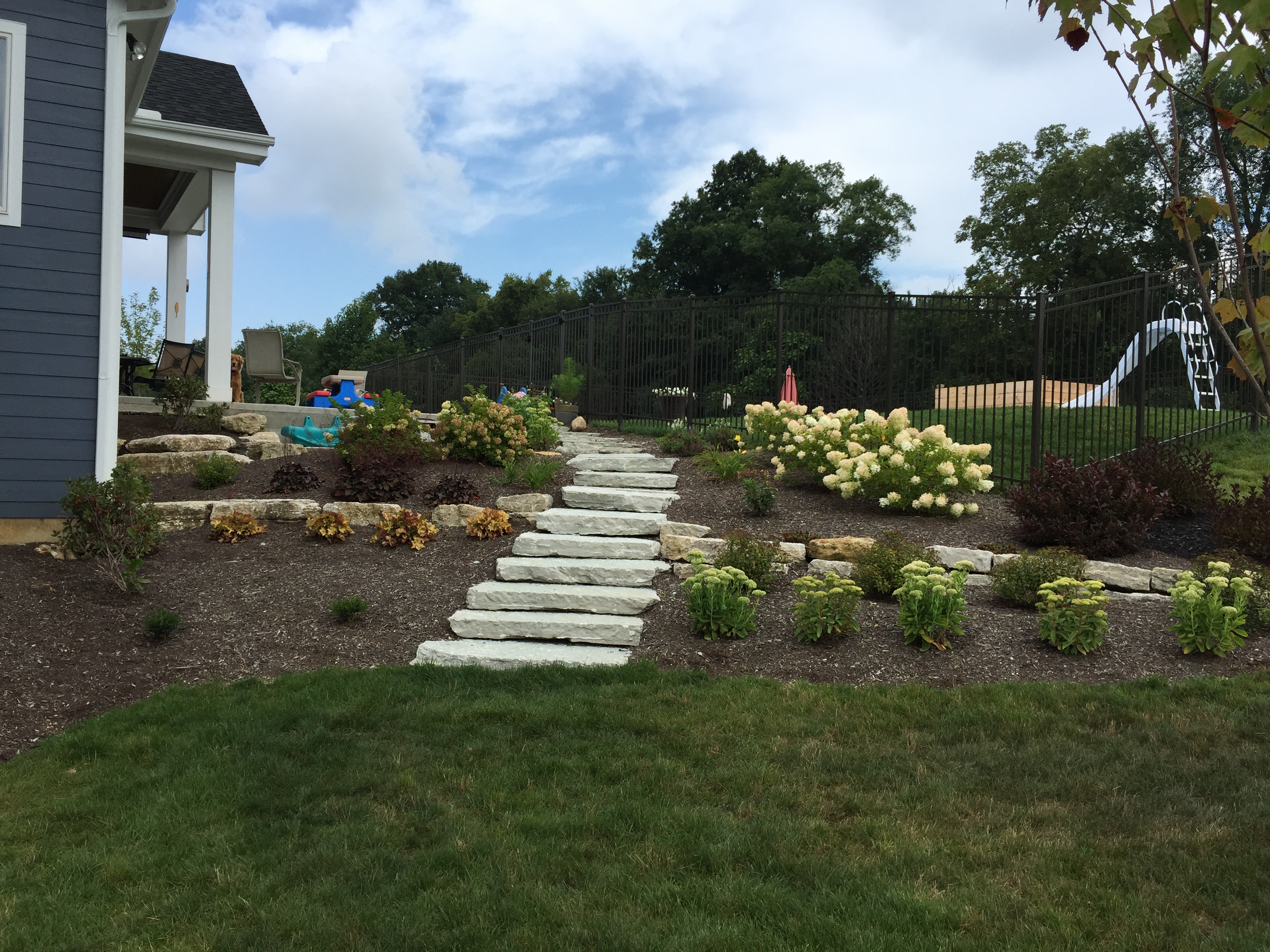 Landscaping after Dayton Ohio