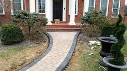 paver pathway