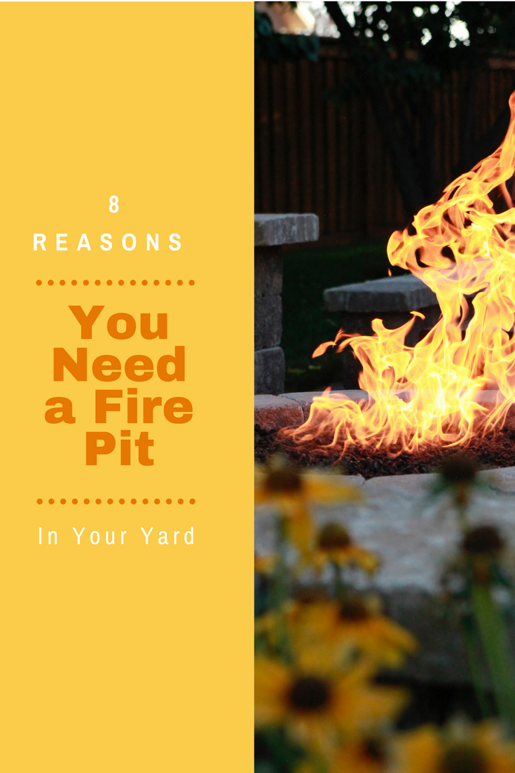Add a fire pit to your Dayton Ohio yard this summer.