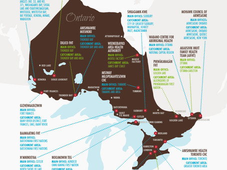 Map: Indigenous Community Governed Health Centres