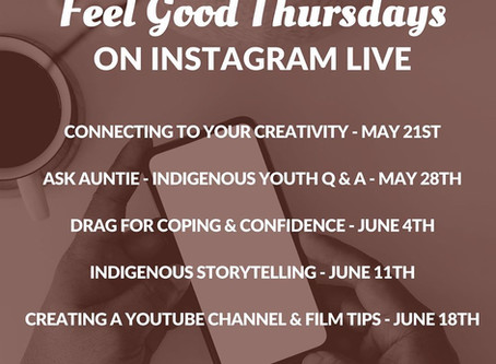 We Matter - Feel Good Thursdays on Instagram LIVE