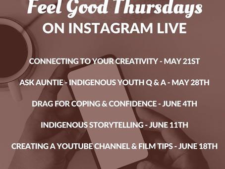 We Matter - Feel Good Thursdays on Instagram LIVE