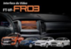 Interface de Desbloqueio de Vídeo Faaftech FT-VF-FRD3 Edge, Focus, Fusione Ranger