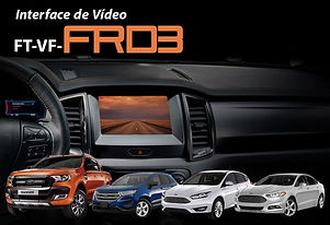 Interface de Desbloqueio de Vídeo Faaftech FT-VF-FRD3 Edge, Focus, Fusion e Ranger