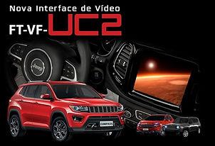 Interface de Desbloqueio de Vídeo FaaftechFT-VF-UC2Toro, Compass, Renegade