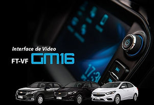Interface de Desbloqueio de Vídeo MyLink 2 Faaftech FT-VF-GM16 Cobalt, Onix, Prisma e Tracker