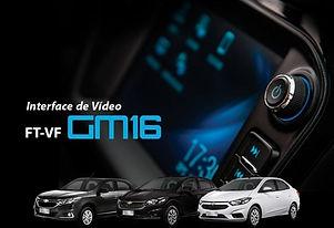 Interface de Desbloqueio de Vídeo MyLink 2 Faaftech FT-VF-GM16Cobalt, Onix, Prisma e Tracker