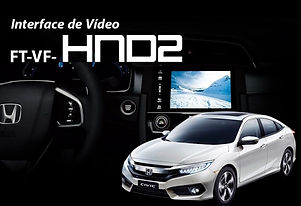 Interface de Desbloqueio de Vídeo Faaftech FT-VF-HND2Civic G10 2017