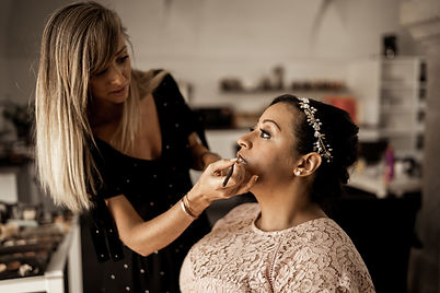 Maquillage mariée a domicile