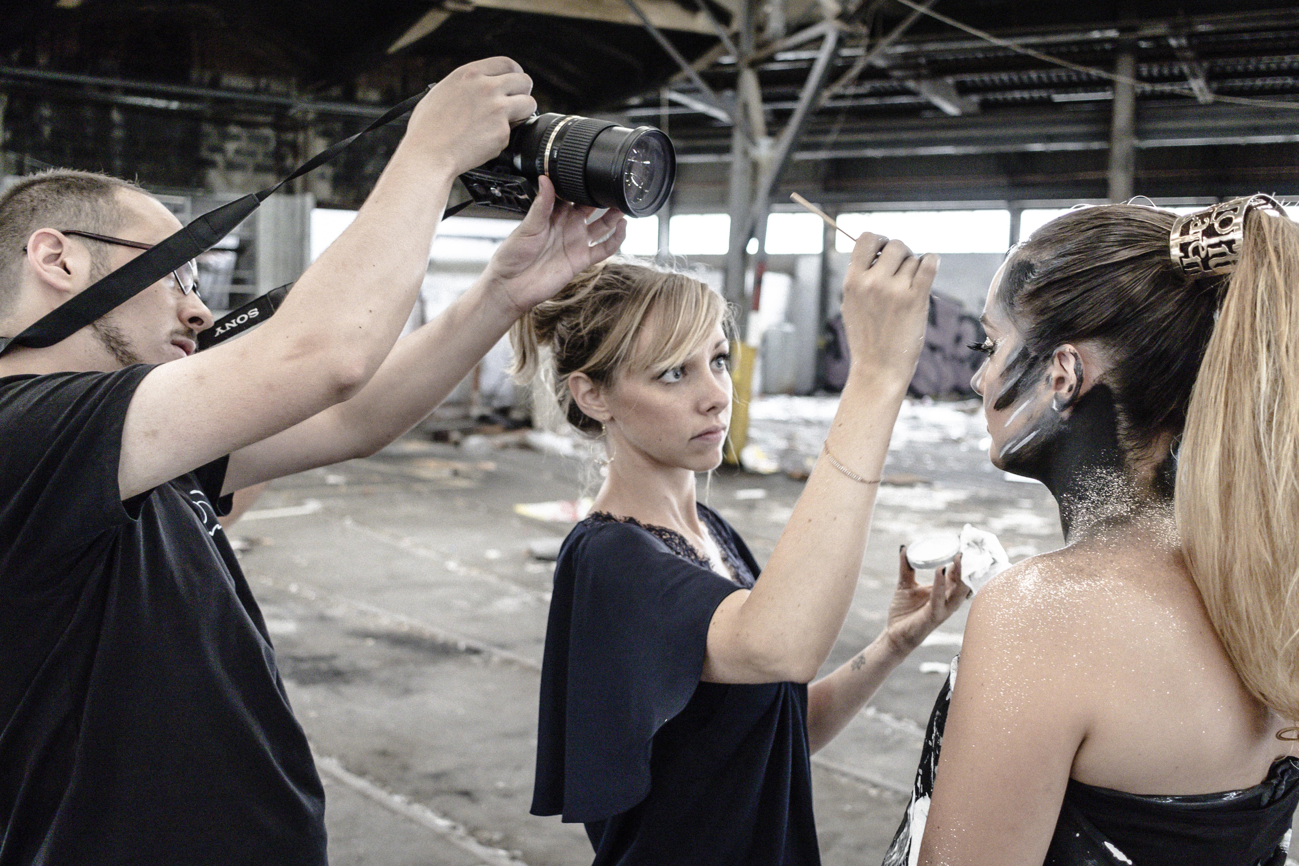maquillage tournage