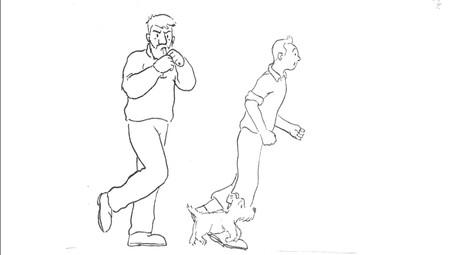 Tintin Run cycle