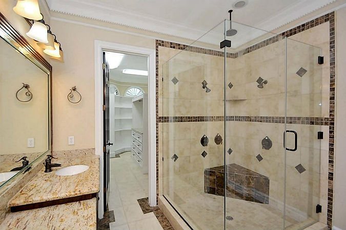 Frameless Glass Shower Door, Glass Shower door