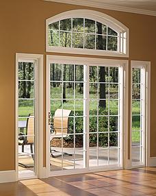 Glass French Patio Door
