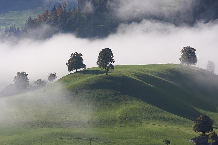 Hügellandschaft Emmental