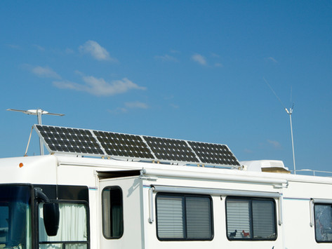 Get Solar on Your RV and Get Unhooked