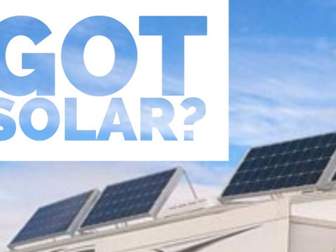 Got Solar?  Give Us A Call