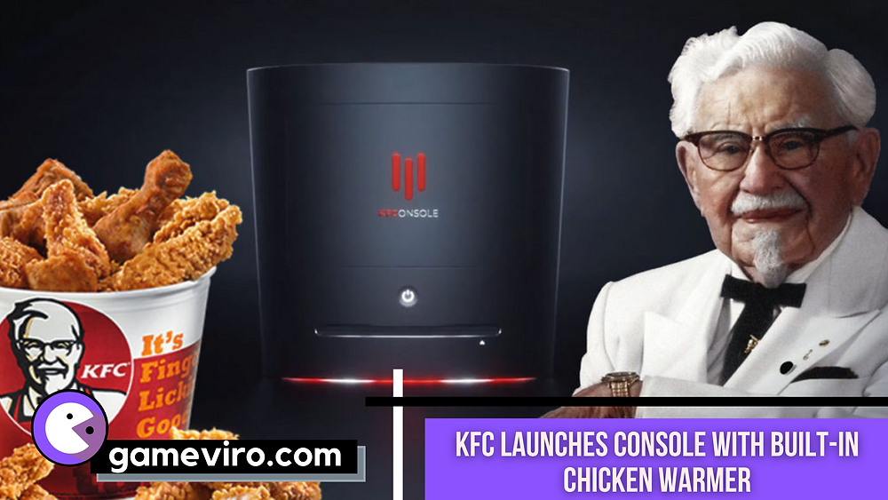 KFC Console with Chicken Warmer